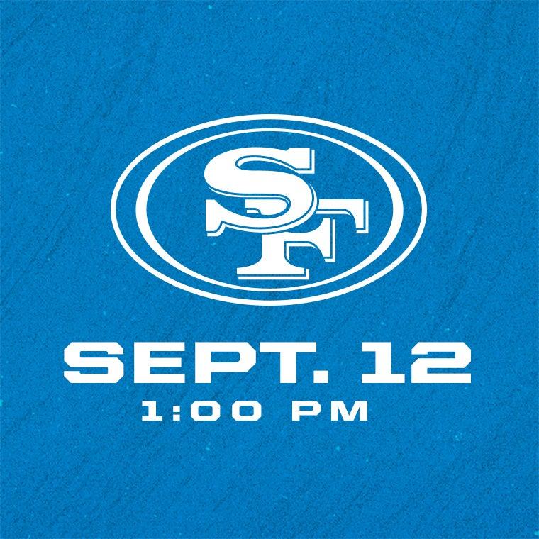 More Info for Detroit Lions vs San Francisco 49ers