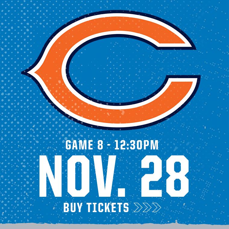 More Info for Chicago Bears @ Detroit Lions