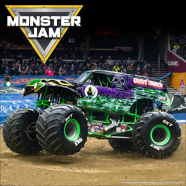 Monster Truck Show 2020.Monster Jam Ford Field