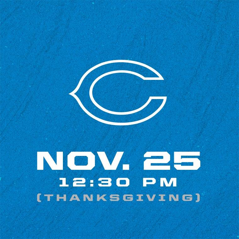 More Info for Detroit Lions vs Chicago Bears