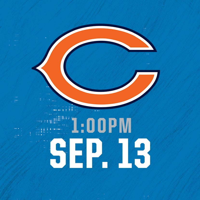 More Info for Chicago Bears @ Detroit Lions