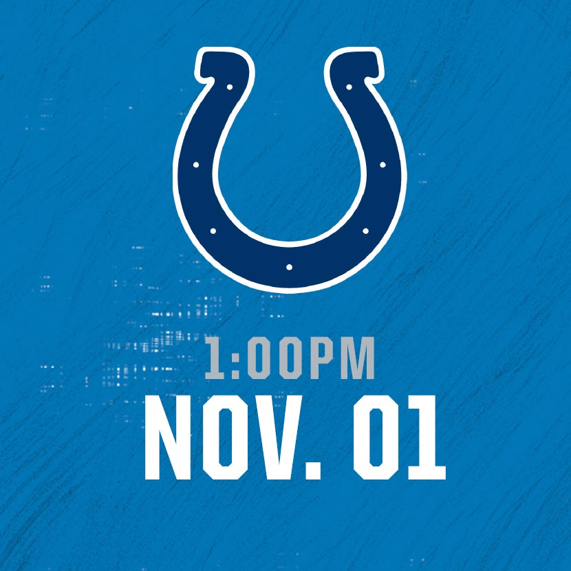 More Info for Indianapolis Colts @ Detroit Lions