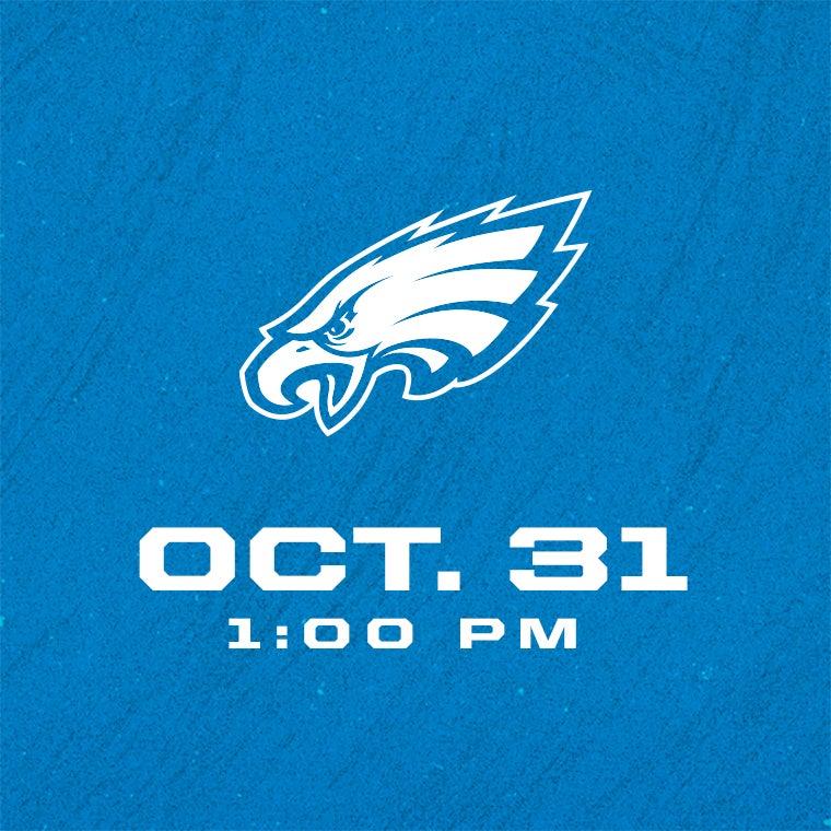 More Info for Detroit Lions vs Philadelphia Eagles