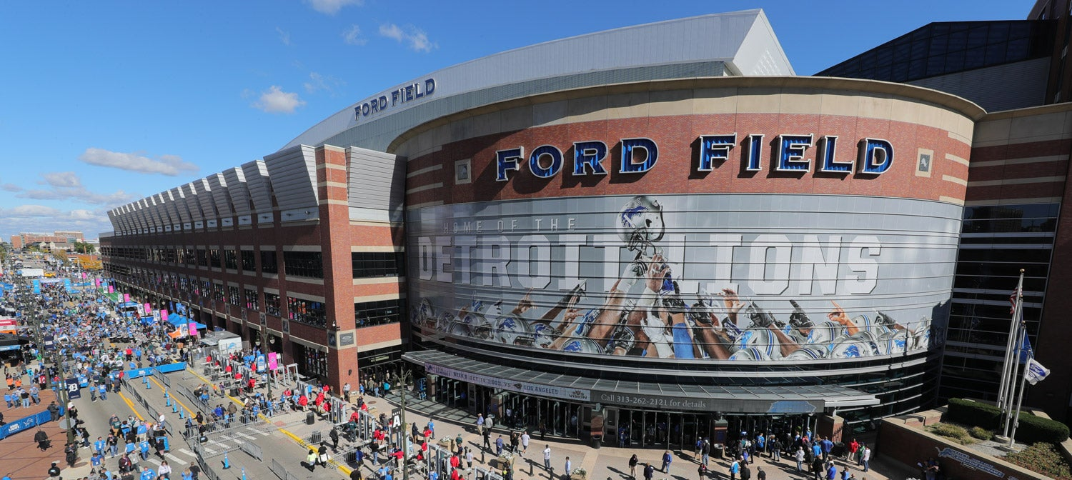 Ford Field Events Stadium Info Ford Field How To Watch Detroit Lions Open Practice Saturday At
