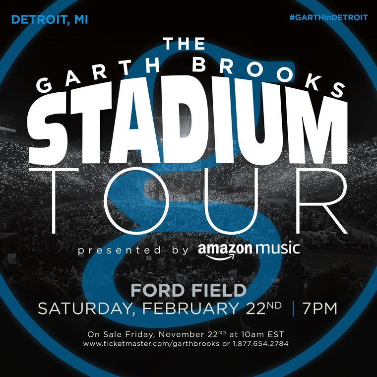 More Info for THE GARTH BROOKS STADIUM TOUR