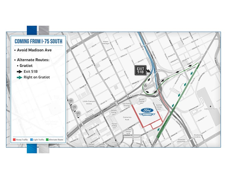 Directions Ford Field