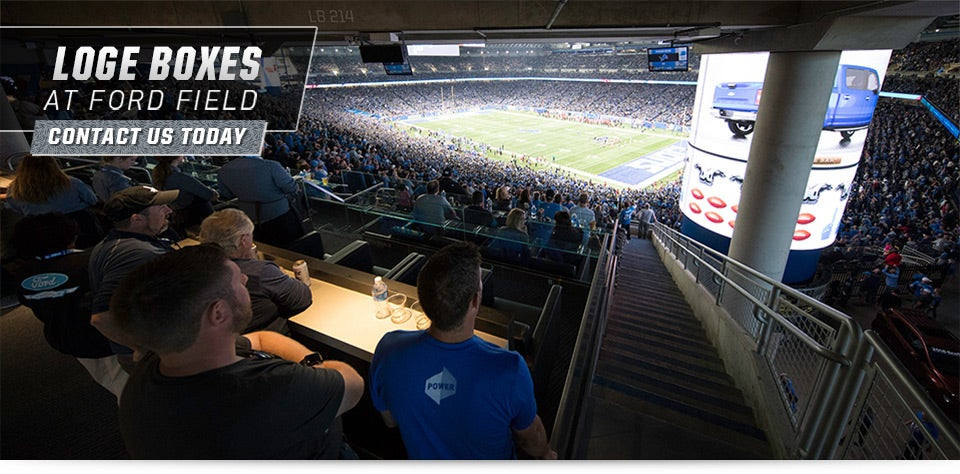 Loge Boxes Ford Field