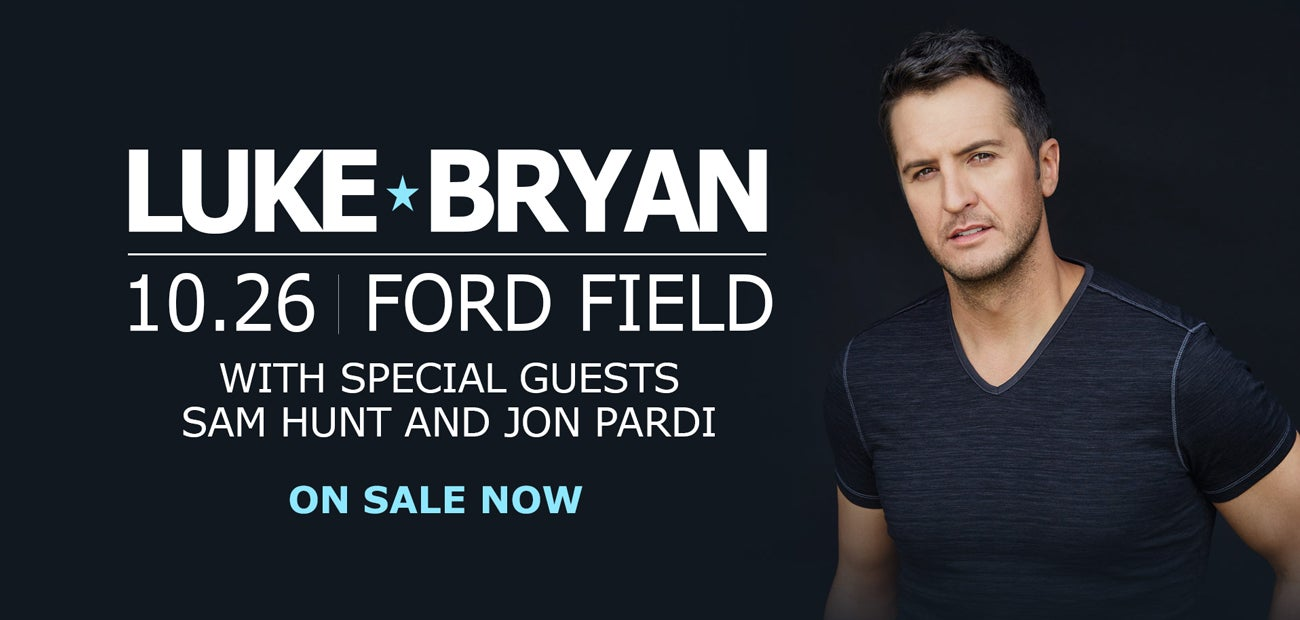 Luke bryan what makes you country tour xl stadium sized ford field luke bryan what makes you country tour xl stadium sized kristyandbryce Image collections