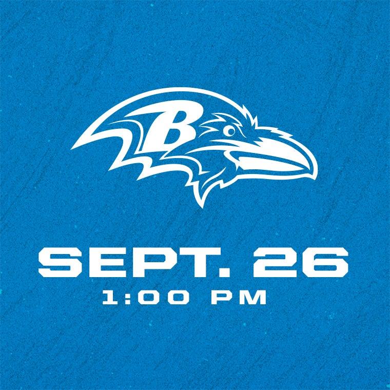 More Info for Detroit Lions vs Baltimore Ravens