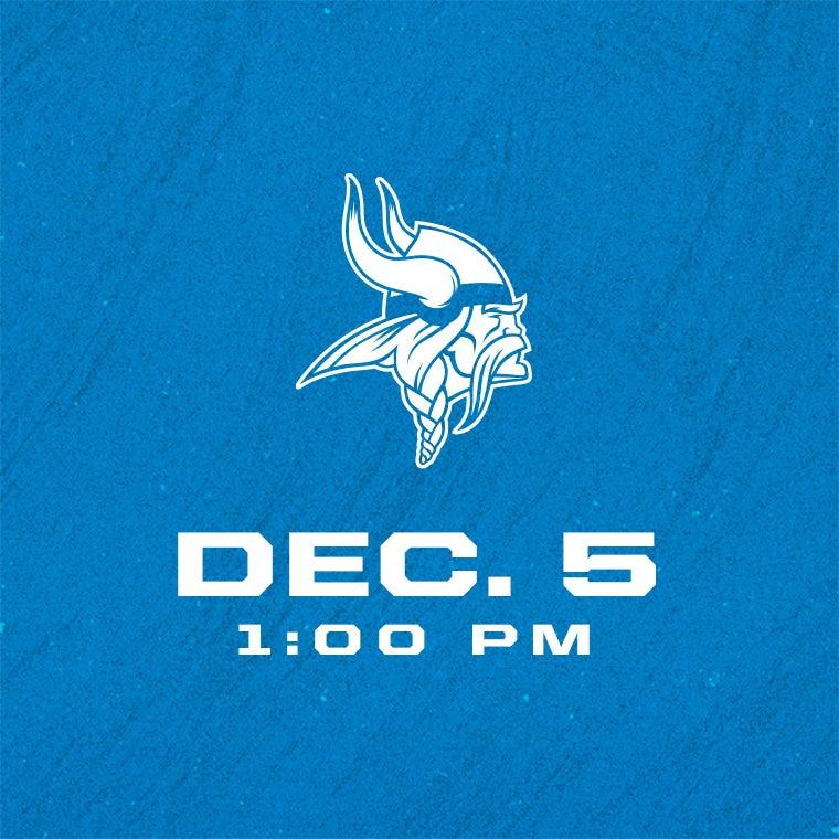 More Info for Detroit Lions vs Minnesota Vikings